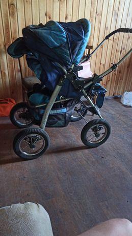 Отличная коляска люлька вездеход