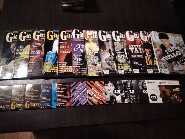 Magazyny Gitarzysta + płyty