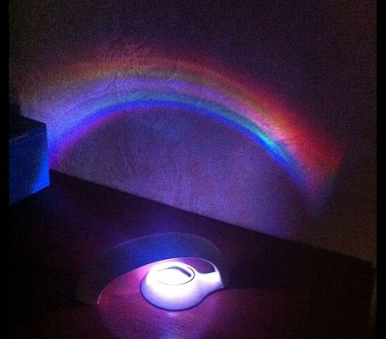 Ночник-проектор радуги Lucky Rainbow Киев - изображение 1