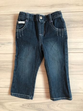 Стильные джинсы на девочку Calvin Klein Jeans р.12 мес.
