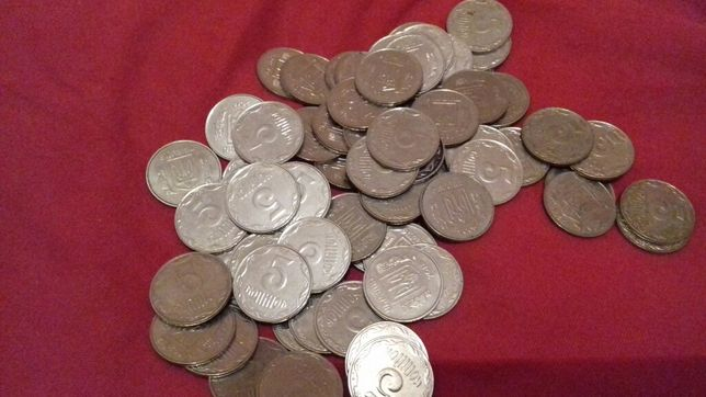 Монети 5 коп