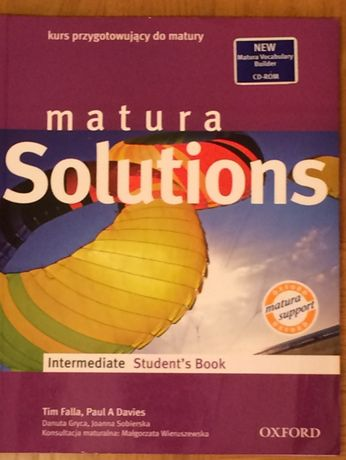 matura Solutions Intermediate Student's book - podręcznik do ang