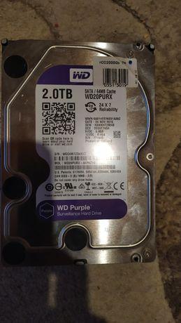 Жесткий диск, винчестер, HDD, WD Purple 2 Tb