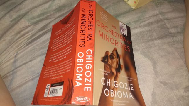 Книга английский язык Chigozie Obioma An Orchestra of Minorities