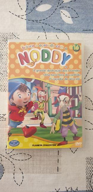 4 DVD'S do Noddy portes incluídos