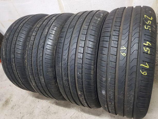 Opony Letnie Nowe-Demo R19 255/45-Pirelli Seal Scorpion Verde-montaż