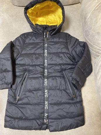 Куртка удлиненная zara 110 см