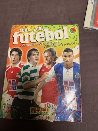 Caderneta Futebol liga 2006/2007