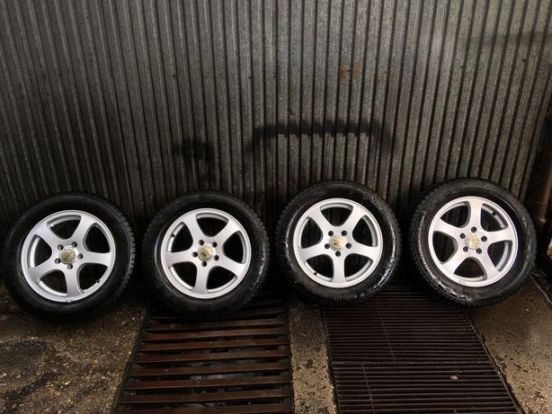 "Koła felgi aluminiowe Aeroline 16"" 5x112 Audi VW A4 b8"