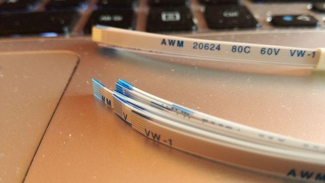Taśma FFC FPC AWM 20624, 80C 60V VW-1 6-pin 15cm