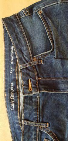 Spodnie calvin klein nowe roz 30