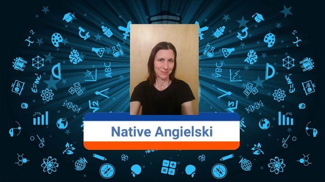 Native speaker Angielski English online