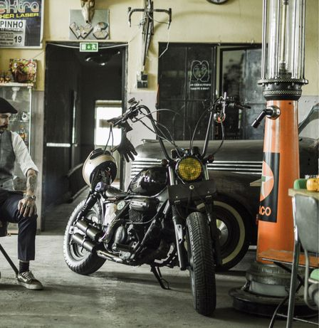 Hyosung GV 125cc Bobber