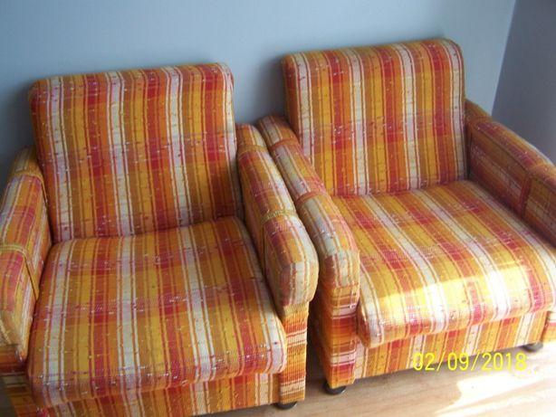 Fotele w dobrym stanie vintage 2 szt !