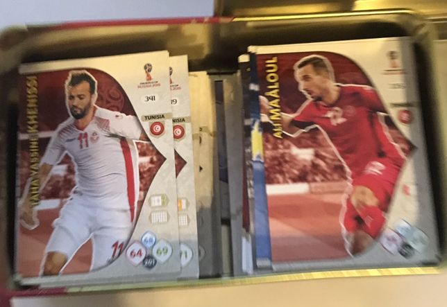 karty Panini FIFA World Cup Rusia 2018