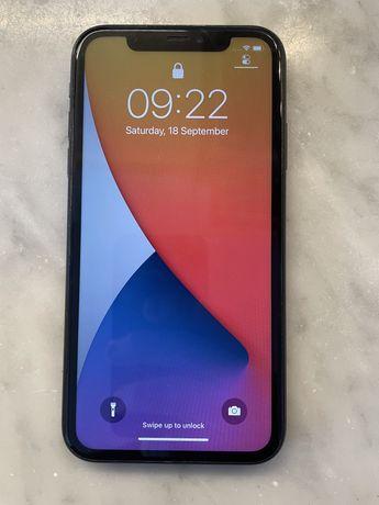 Iphone 11 128 gb preto + capa bateria