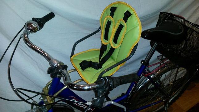 Велокресло на быстросъемном креплении, детское сидение на велосипед