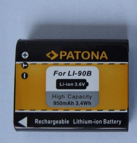 NOWY akumulator Patona, Li-90B do Olympus Stylus XZ-2 TG-3 aż 950mAh!