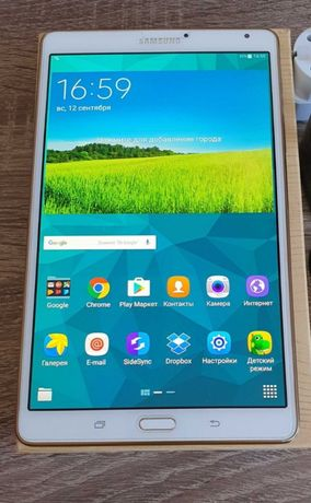 "Samsung Galaxy Tab S 8.4"" sm t700 (3/16 ГБ)"