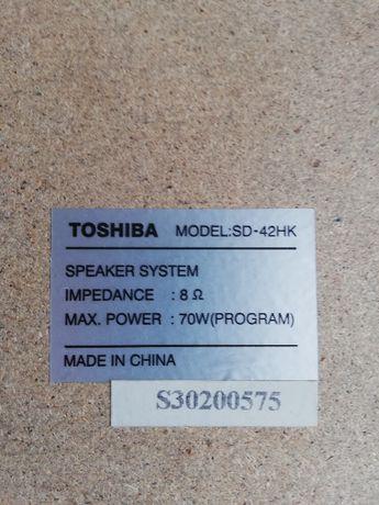 Głośniki Toshiba SD 42 HK
