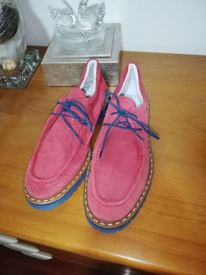 Último preço*Sapato pele genuína*