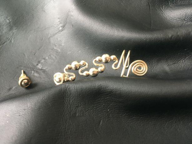 Kolczyki-nausznice typu ear cuff