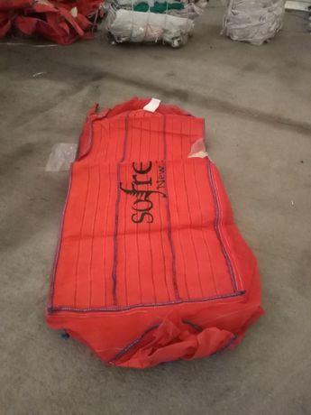 Worki BIG BAG 90/90/110 cm idealne do transportu różnych materiałów