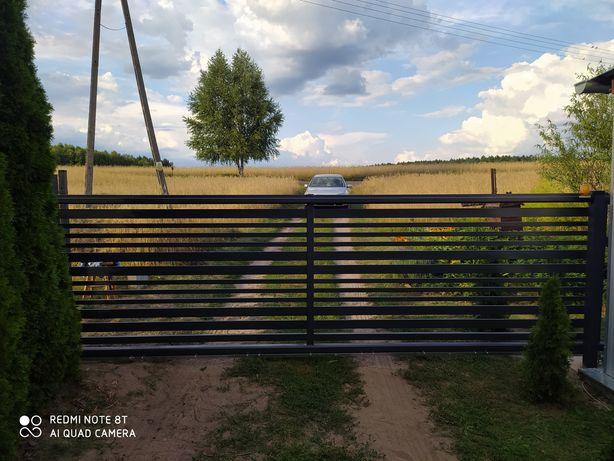 Bramy ogrodzenia nowoczesne