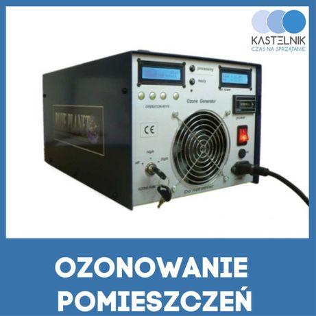 Ozonowanie pomieszczeń, dezynfekcja, zamgławianie, odkażenie 3000m2/h