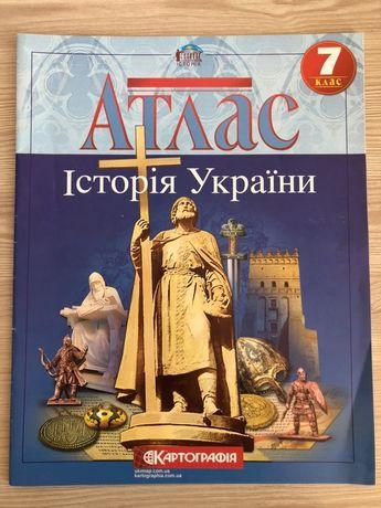 Атлас. Історія України. 7 класс