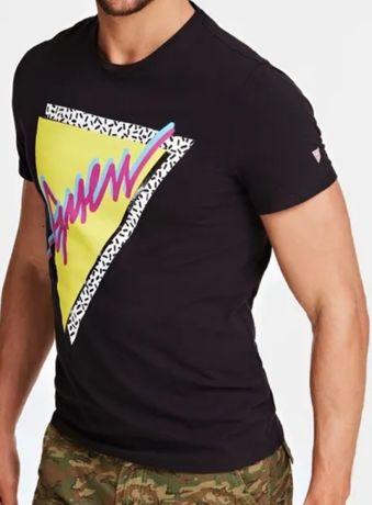 T-shirt Guess męski. Taniej 50%