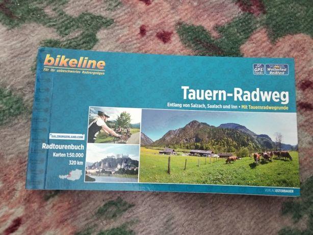 mapa rowerowa Bikeline Tauern-Radweg 1:50 k