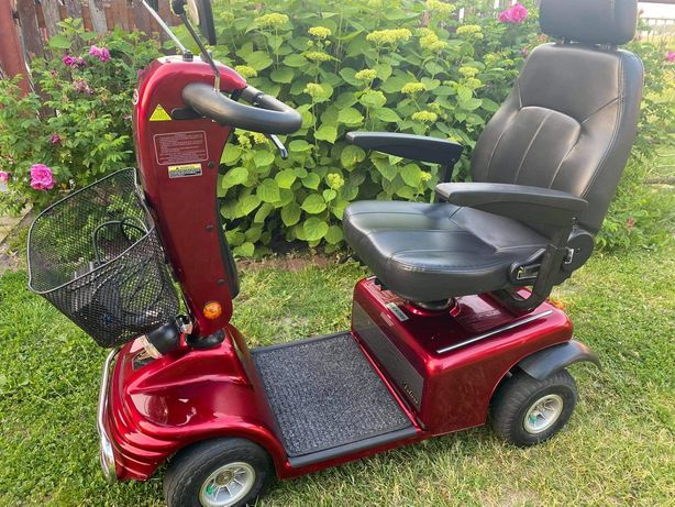 Wózek, Skuter elektryczny inwalidzki dla seniora