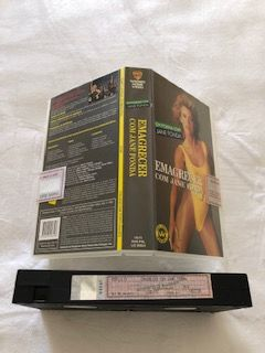 Emagrecer com Jane Fonda - cassete VHS