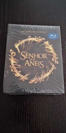 Senhor dos Anéis - Triologia Completa em Blu - Ray - Novo
