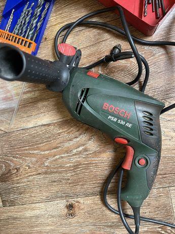 Продам рабочую дрель ударную Bosch оригинал