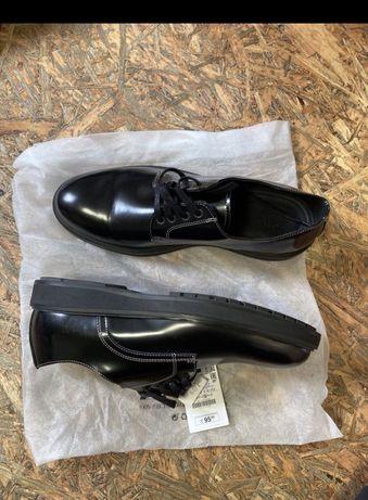 Шкіряні туфлі Zara нові