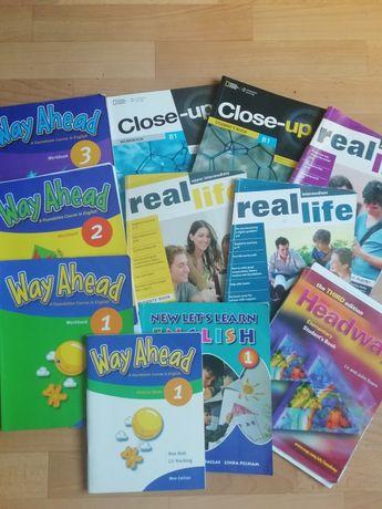 Книги, тетради по английскому языку