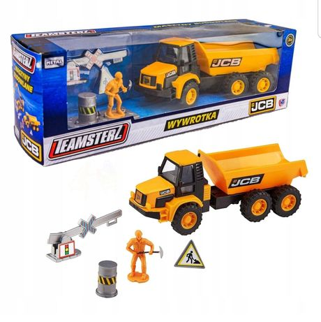 Zabawki firmy JCB Koparko-ładowarka, wywrotka i ładowarka teleskopowa