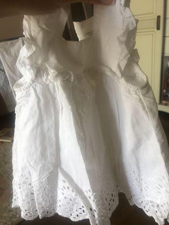 Платье на девочку 6-9 месяцев