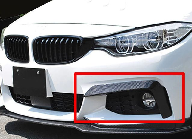 BMW 4 F32 F33 F36 M-Pakiet Splittery Flapsy Dokładki Zderzaka