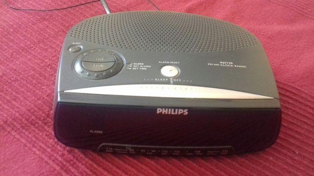 Radio relógio Philips