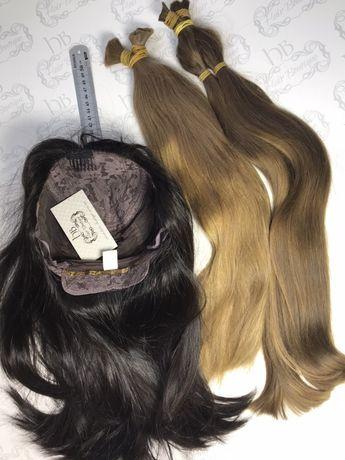 Парики шиньоны, из натуральных славянских волос