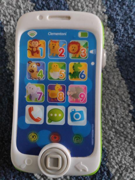 Clementoni, zabawkowy telefon