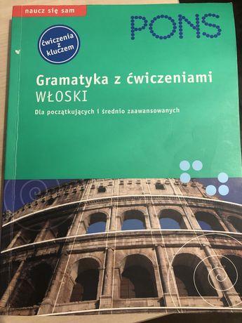 Gramatyka z ćwiczeniami Włoski dla początkujących i średnio zaawansowa