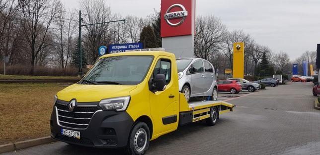 Wynajem autolaweta lawet Bielsko-Biała nowy Renault Master