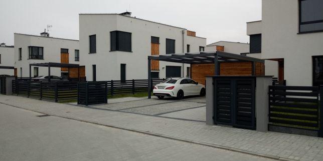Wiata garażowa carport nowoczesna Montaz Cala PL