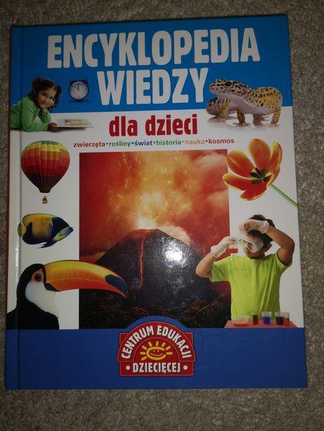 Książka Encyklopedia wiedzy dla dzieci