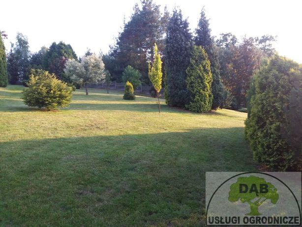Koszenie trawników,areacja, wertykulacja, sprzątanie ,prace ogrodowe