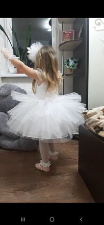 Платье снежинки.